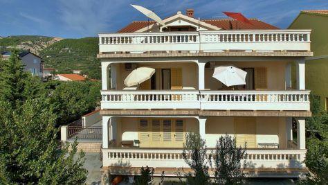 Apartmány a pokoje Banjol 18443, Banjol - Exteriér