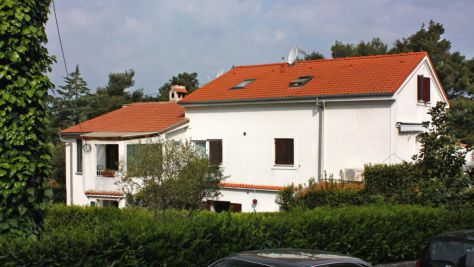 Apartmány Malinska 5223, Malinska - Exteriér