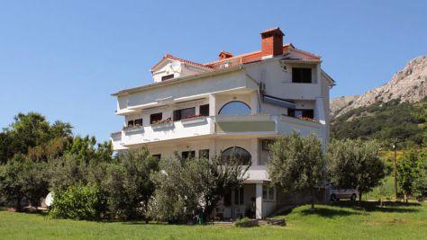 Apartmány Baška 5240, Baška - Exteriér