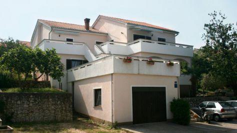 Apartmány Njivice 5278, Njivice - Exteriér