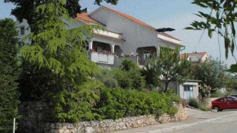 Apartmány Njivice 5319, Njivice - Exteriér