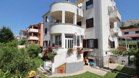 Apartmány Baška 5333, Baška - Exteriér