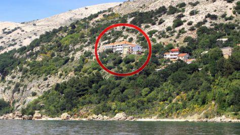 Apartmány a pokoje Stara Baška 5335, Stara Baška - Exteriér