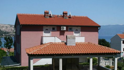 Apartmány a pokoje Baška 5338, Baška - Exteriér