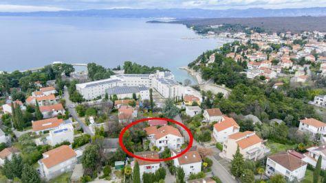 Apartmány a pokoje Malinska 5341, Malinska - Exteriér