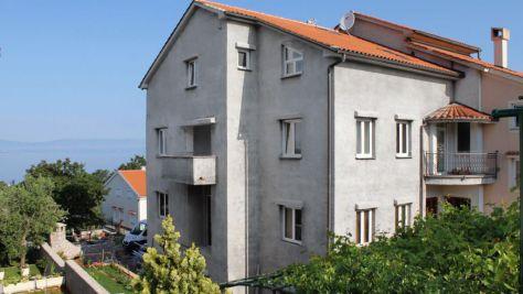 Apartmány a pokoje Njivice 5343, Njivice - Exteriér