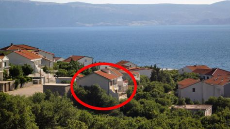 Apartmány Klenovica 5383, Klenovica - Exteriér