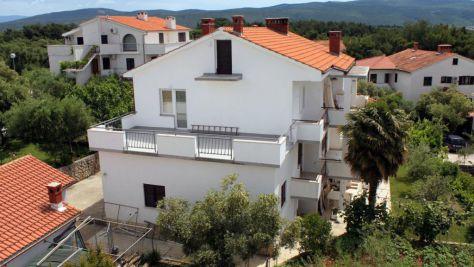 Apartmány a pokoje Krk 5387, Krk - Exteriér