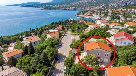 Apartmány Klenovica 5448, Klenovica - Exteriér