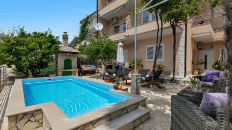 Apartmány a pokoje Makarska 6241, Makarska - Exteriér