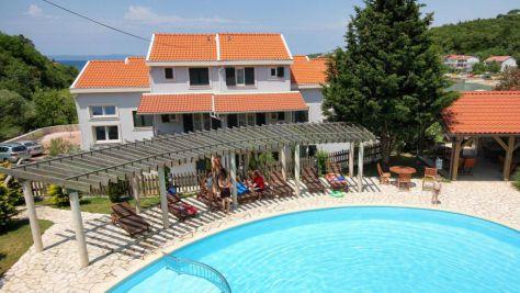 Ferienwohnungen Kampor 6652, Kampor - Exterieur