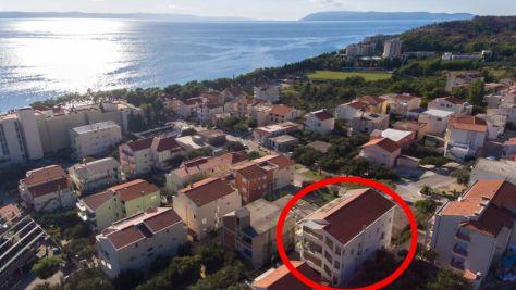 Apartmány Tučepi 7067, Tučepi - Exteriér